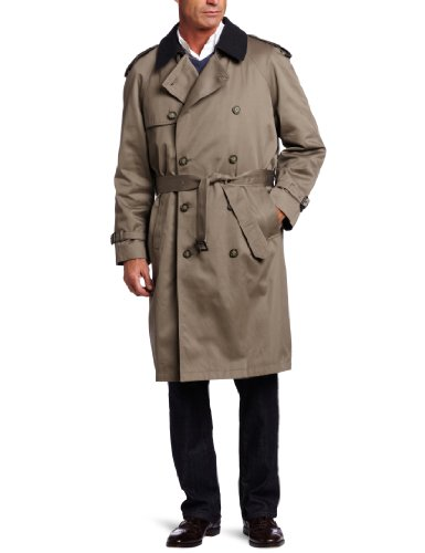 Double Collar Raincoat - 8