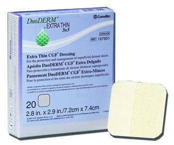 - DuoDERM Extra Thin CGF Dressing, Duo-D Thn Drs Hydcol Spot, (1 EACH, 1 EACH)