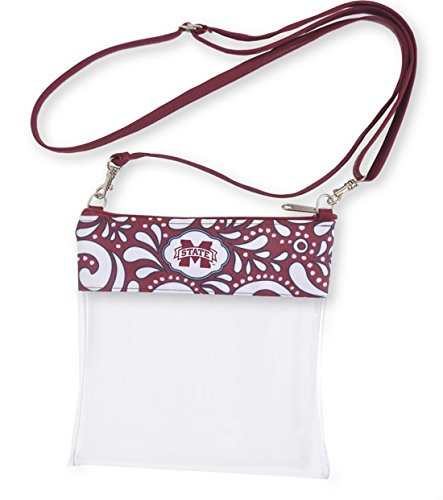 Desden Mississippi State Clear Gameday Crossbody Bag by Desden
