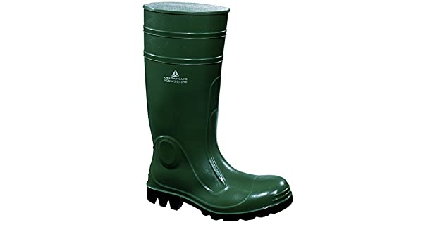 Delta Plus Panoply GIGNAC2 Work Safety Green Wellington Boots Wellies Steel Toe