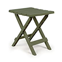 Camco 51880 Sage Regular Quick Folding Adirondack Side Table