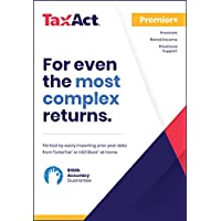 TaxAct Online 2018 Premier+ Federal Edition [PC Online code]