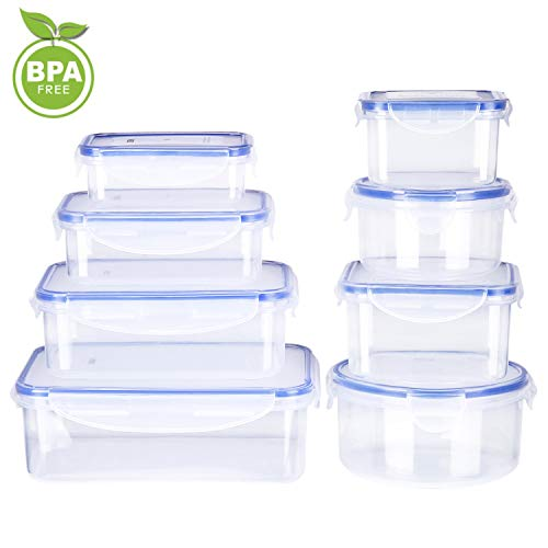 Deik Food Storage Containers, BPA-Free Plastic ...