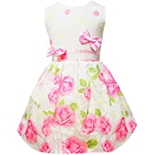 Toddler Girls Sleeveless Dress Casual Floral Print Summer Swing Party Dresses Size 2 3 4 5 6 7 T