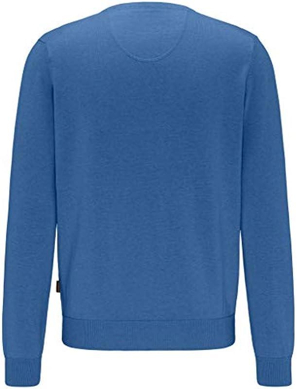 FYNCH-HATTON sweter Knittwear 1120 211 634 Azure niebieski 4XL: Odzież