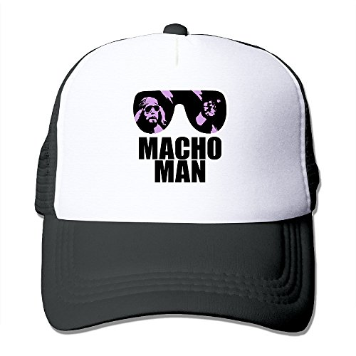 Macho Man Hat (Macho Man Mesh Cap Trucker Cap Hat)