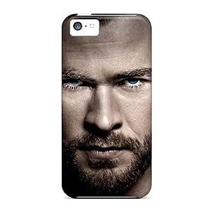 Mwaerke Premium Protective Hard Case For Iphone 5c- Nice Design - Chris Hemsworth