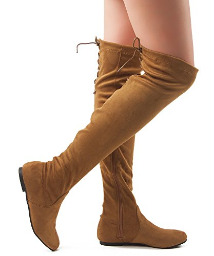ROF+Women+Fashion+Comfy+Vegan+Suede+Side+Zipper+Over+the+Knee+Boots+CAMEL+%288%29