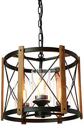 Eumyviv 3-Light Farmhouse Chandelier