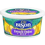 Buffalo's Own Bison Brand French Onion Chip Dip 4 Pack FREE OVERNIGHT SHIPPING