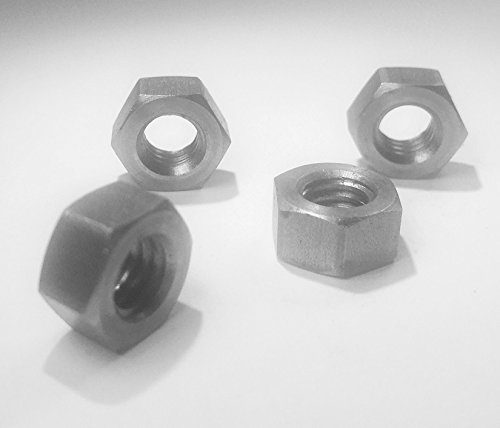 verse) Thread Hex Nut Fine Thread Stainless Steel 18-8 (10 Pack) Made in USA ()