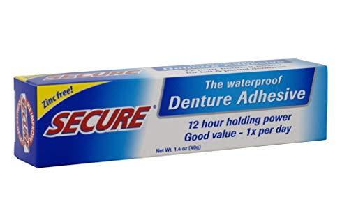 Secure Denture Bonding Cream, 1.4 Ounce - 2 per case. - http://coolthings.us