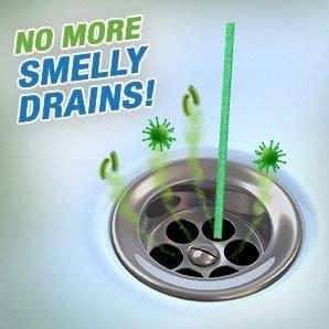 Green Gobbler BIO-FLOW Drain Strips - (Drain Cleaner & Deodorizer) - 4 Packs of 12 each by Green Gobbler (Image #5)