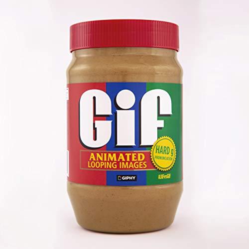 Jif x GIPHY Creamy Peanut Butter Limited Edition Jar, 40oz.