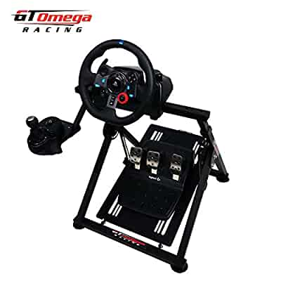 bbc6bd6955c GT Omega APEX Racing Wheel Stand for Logitech G29 Gaming Steering Wheel,  Pedals & Shifter Mount - Supporting G920 G27 G25 Fanatec PS4 Xbox PC ...