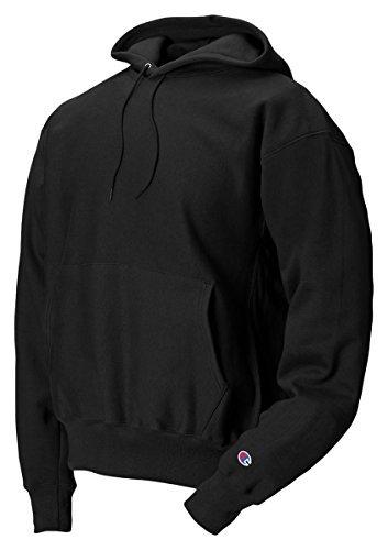 Champion Reverse Men's Weave Hood, Black, XL