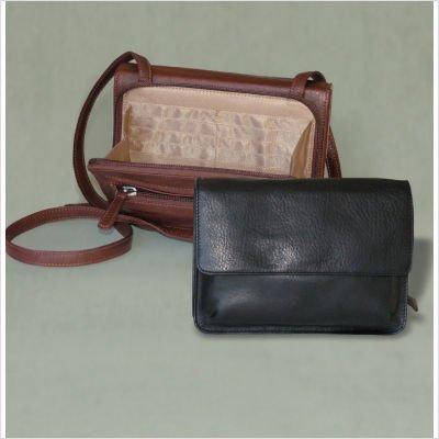 Osgoode Marley Double Pocket Urbanizer (Black) (Wallet Osgoode Marley Bag)