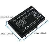 OSTENT 2000mAh Rechargeable Lithium-ion Battery