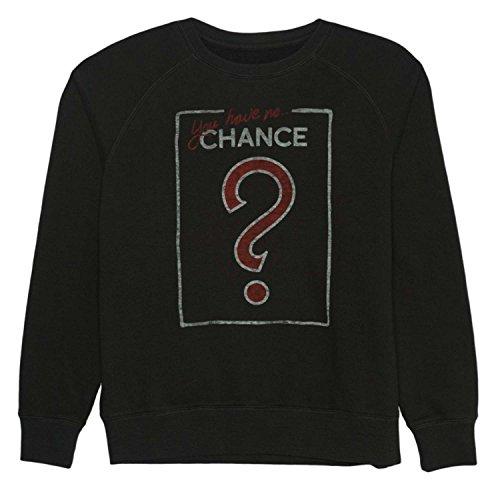 - Junkfood Monopoly Womens Dark Gray You Have No Chance Sweatshirt Game Night Sweat Shirt S