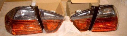 European Tail Lights - BMW E91 Touring 2006-2008 OEM Genuine European Black Line Tail Lights