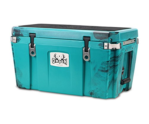 Orion Large Heavy Duty Premium Cooler (65 Quart, Bluefin), Previous Year Color, Durable Insulated Ice Chest for Maximum Cold Retention - Portable, Bear Resistant, and Long Lasting
