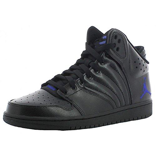 Nike Jordan 1 Flight 4 Scarpe Sportive Uomo Nere Pelle, Nero, 42