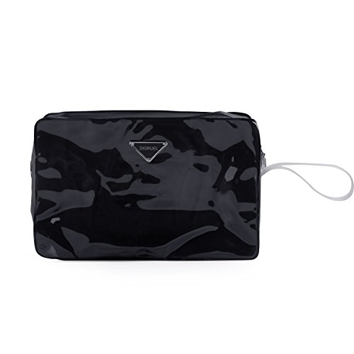 Digruel Women Valid Cases Cosmetic Bag Black by Digruel