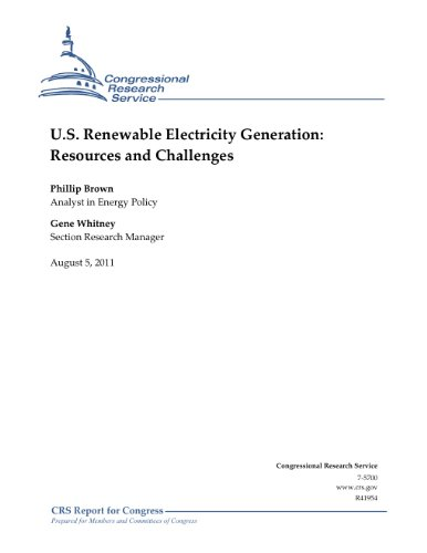U.S. Renewable Electricity Generation: Resources and Challenges