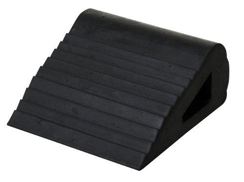 Vestil RBW-3 Industrial Rubber Wedge, 6-1/2'' L x 6'' W x 3-1/4'' H by Vestil