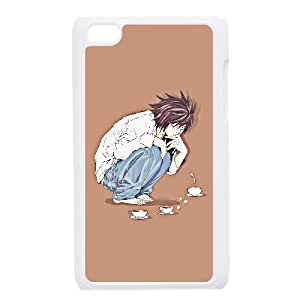 Generic for iPod Touch 4 Case White Death Note Custom HKADSGHGO4592