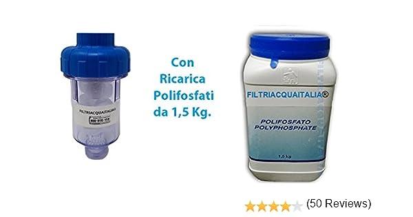 Filtros de agua Italia filtro antical para lavadora con 10 ...