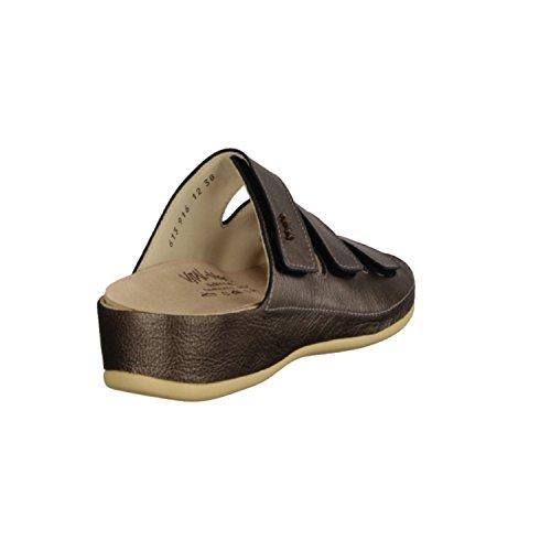 Vital 0613M-2626- Damenschuhe Pantolette/Zehentrenner, Mehrfarbig, Nappa (Leder), Absatzhöhe: 35 mm