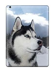 Tpu Valerie Lyn Miller Shockproof Scratcheproof Siberian Husky Dog Hard Case Cover For Ipad Air