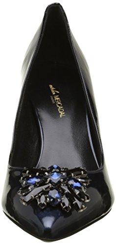 Atelier Mercadal Anastasia - Zapatos de vestir Mujer Azul - Bleu (Vernice Perlato Blu/Étoile Bl/Nr)