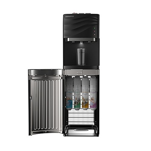 VALUE PACK: DRINKPOD USA 100 Series Bottle Less Water Cooler with 4 Filters and 3 Temp. Modes for Home or Office - UL / Energy Star Approved. Value Pack Includes an Extra Set Of Filters (8 Total) by DRINKPOD USA (Image #1)