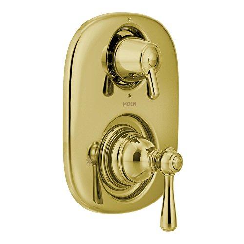 Moen T4111P Kingsley Moentrol with Transfer Valve Trim Tub/Shower Faucet, Polished Brass ()