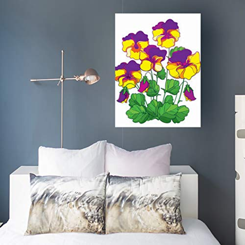 Canvas Prints Wall Art Stretched Framed Open Bouquet