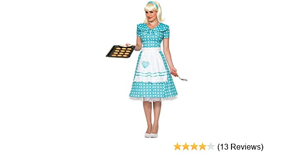 e7751d2ab772 Amazon.com: Forum Novelties Women's 50's Housewife Costume: Clothing