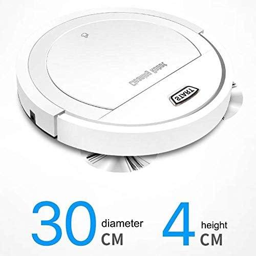 SILENTLY Ultra-Mince Robotique Aspirateur, Super Aspiration/Anti-Chute du Capteur/USB De Charge Aspirateur Automatique, Adapté pour Le Bureau/Chambre À Coucher