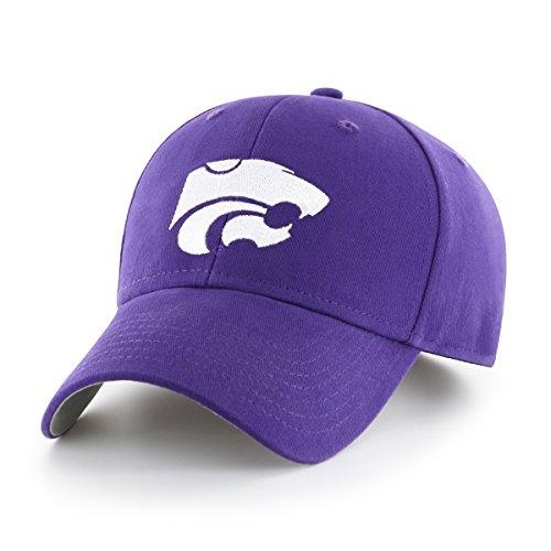 NCAA Kansas State Wildcats Children Cinch Ots All-Star MVP Adjustable Hat, Kids, Purple