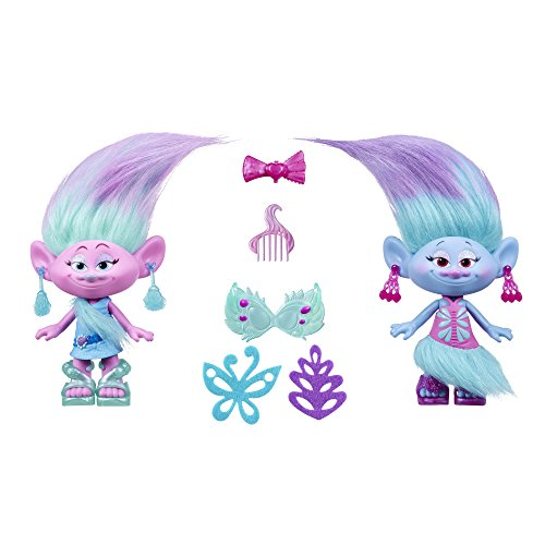 Trolls DreamWorks Satin and Chenille's Style Set -