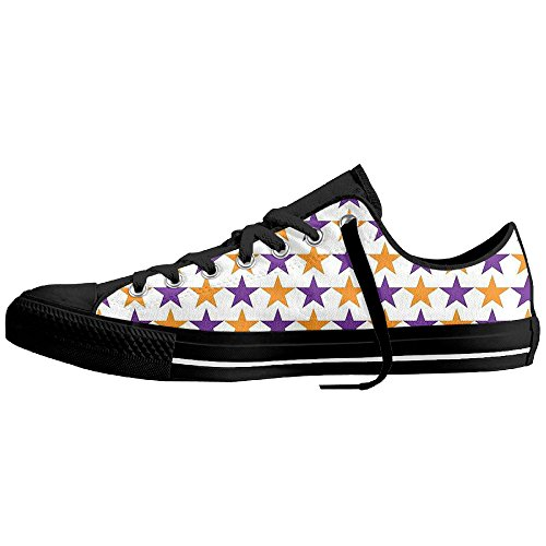 VIRGINIA Colorful Stars Classical Premium Without Lace Pumps Sneakers Canvas Sneaker Walking Canvas Sport Shoes