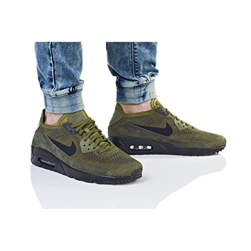 NIKE Air Max 90 Ultra 20 Flyknit 875943302 Color Green