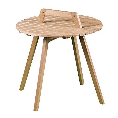 Southern Enterprises AMZ4292DO Pamona Outdoor end Table, Natural