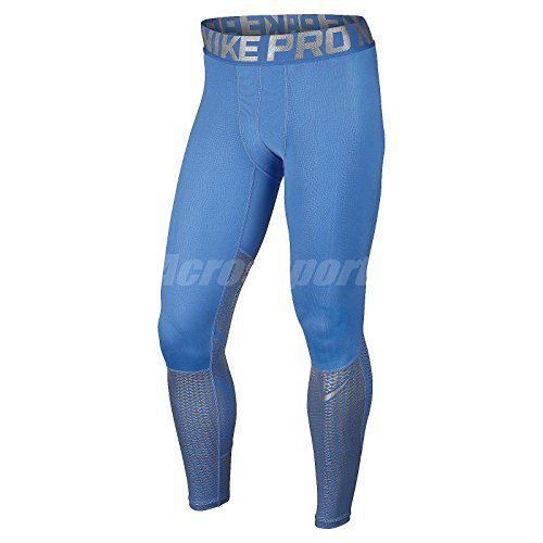 Nike Men's Pro Hypercool Max Training Tights-Light Italy Blue-Medium