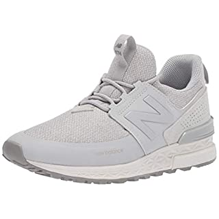 New Balance Women's Fresh Foam 574 Sport V1 Sneaker, Rain Cloud/Rain Cloud, 7.5 B US