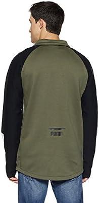 Puma EVO T7 Chaqueta de chándal, Hombre, Verde Oscuro, XL: Amazon ...