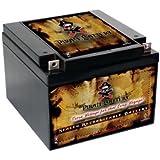 12V 26AH SLA Battery for UB12260 Bat Caddy X4 Trolley Electric Golf Cart Battery