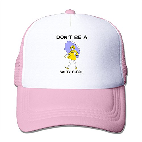 Costume Design Online Classes (Don't Be A Salty Bitch Toddler Custom Hiphop Cap One Size Fits Most Dancing Mesh Cap Adjustable)