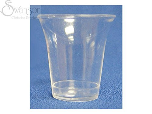 Swanson Christian Supply Communion Cups Clear Cup Pack of 50